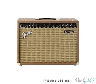 Аренда, прокат Fender ACOUSTASONIC JR DSP комбо для ак. гитары, 2х40Вт (стерео), 2 канала, ревер, 3-пол.эквалайзер 1800 р/сут в Москве на party365.ru
