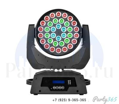 "Аренда, прокат ""Голова"" Led Wash Zoom Color Imagination 360 1500 р/сут в Москве на party365.ru"